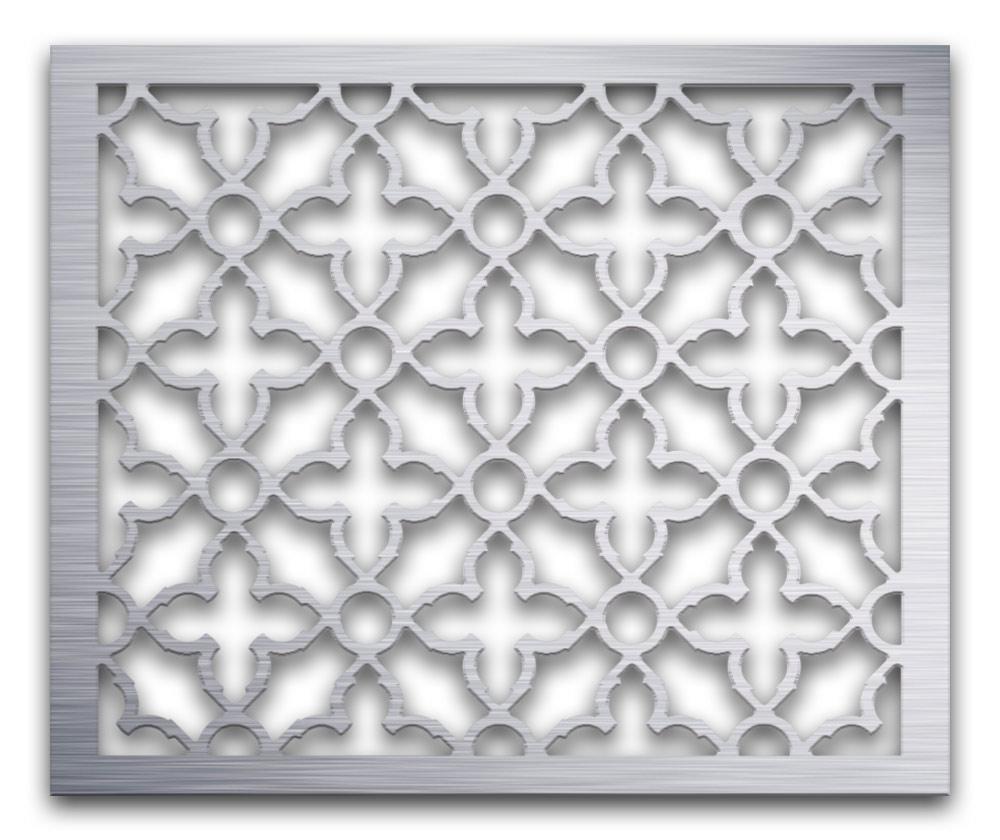 AAG719 Perforated Metal Grilles in Aluminum