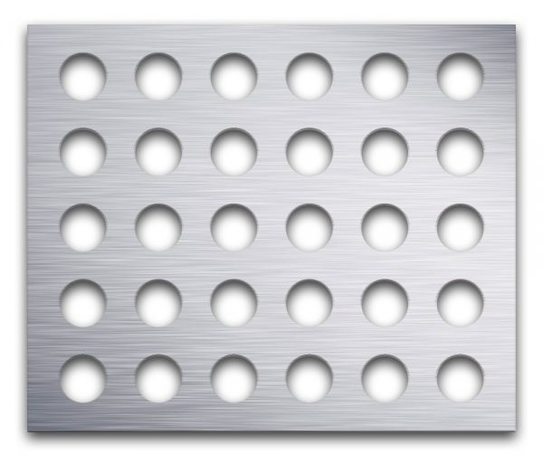 AAG720 Perforated Metal Grilles in Aluminum