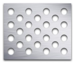 AAG721 Perforated Metal Grilles in Aluminum
