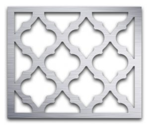 AAG723 Perforated Metal Grilles in Aluminum