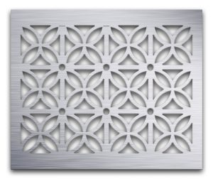 AAG728 Perforated Metal Grilles in Aluminum