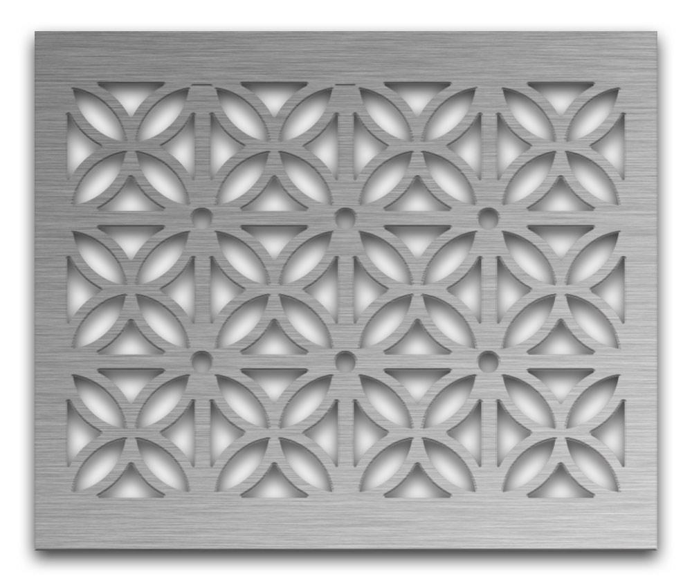 AAG728 Perforated Metal Grilles in Stainless Steel & Steel
