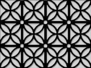 Custom Decorative Metal Screens Pattern