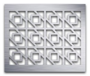 AAG729 Perforated Metal Grilles in Aluminum