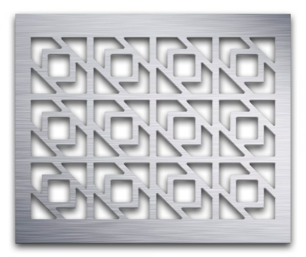 AAG729 Perforated Metal Grilles in Aluminum