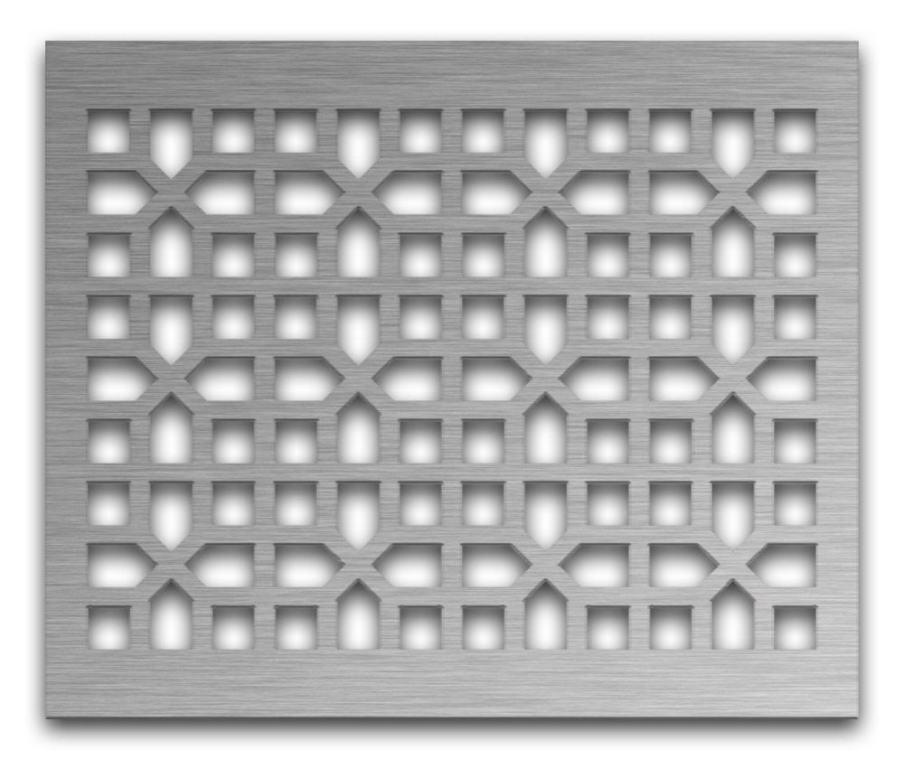 AAG730 Perforated Metal Grilles in Stainless Steel & Steel