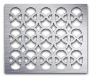 AAG732 Perforated Metal Grilles in Aluminum